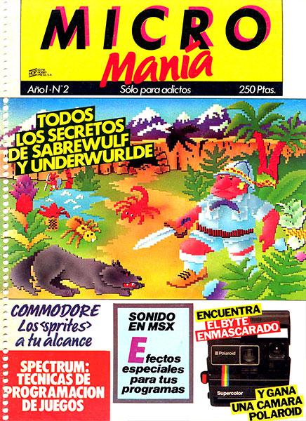 Revista Micromanía Número 2