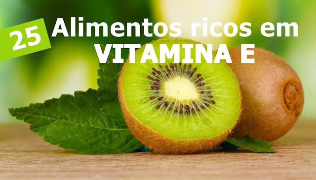 25 alimentos ricos em vitamina E para detox e limpeza