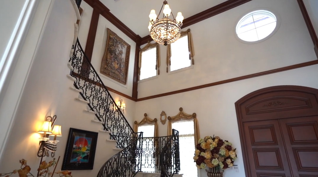 48 Interior Design Photos vs. 1936 Royal Palm Way, Boca Raton, FL Luxury Mansion Tour