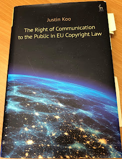 Book Review: The Right of Communication to the Public in EU Copyright Law