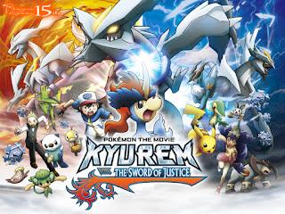 Pokemon Movie 15: POKEMON THE MOVIE KYUREM VS THE SWORD OF JUSTICE | Anime Episode