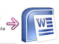 Rumus Rumus Microsoft Word Dasar yang Harus dikuasai Guru