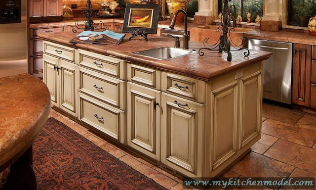 Kitchen Island With Sink For Sale