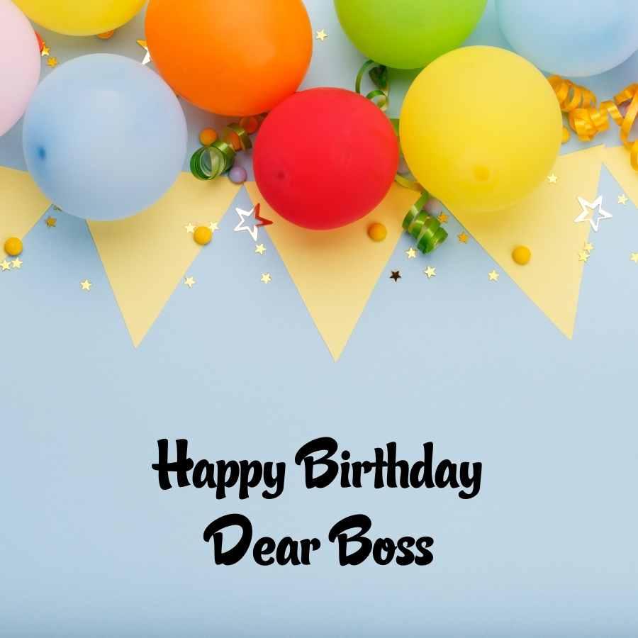 happy birthday for my boss