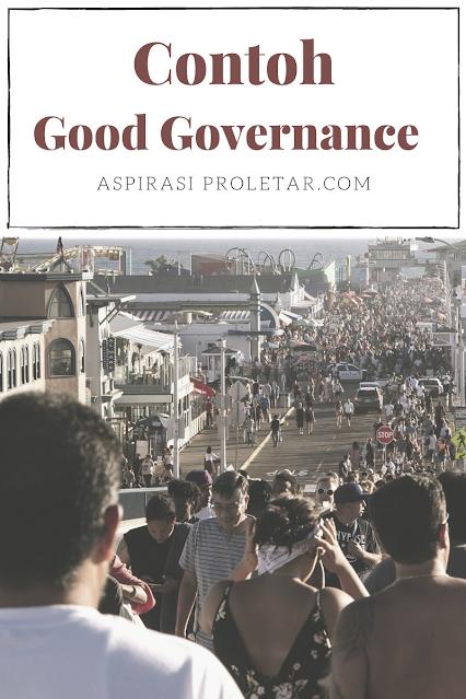 Contoh good governance