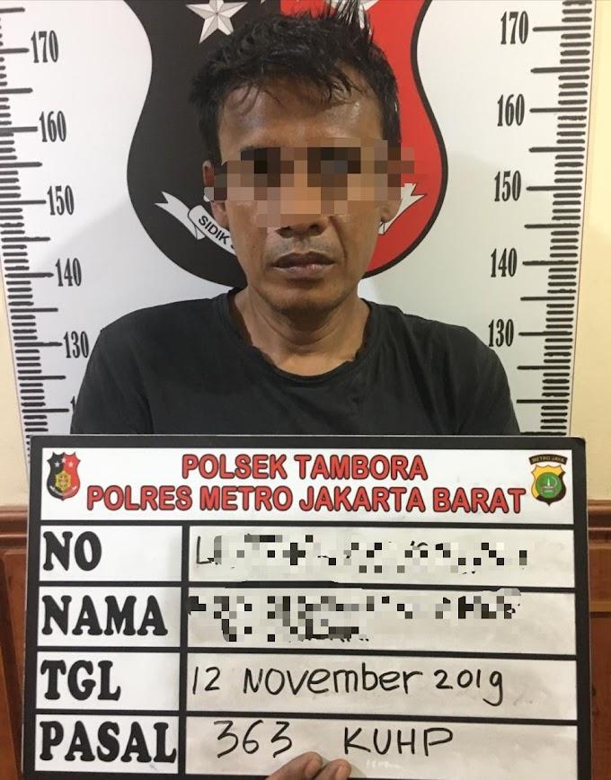 Pelaku Curanmor di Tambora Diringkus Polisi