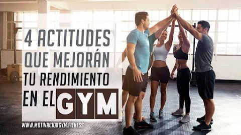 4 actitudes al entrenar en el gym
