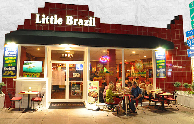 Entrada do Little Brazil