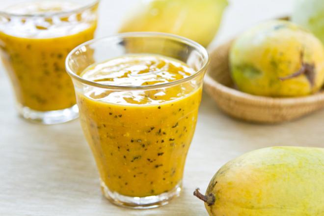 Jugo de Mango y Maracuyá