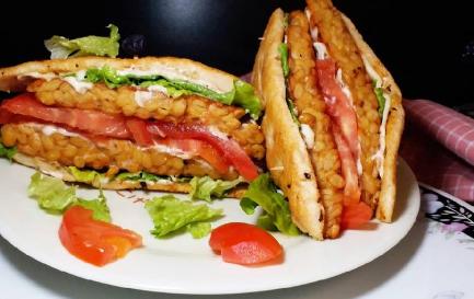 Resep Tempe bentuk sandwich