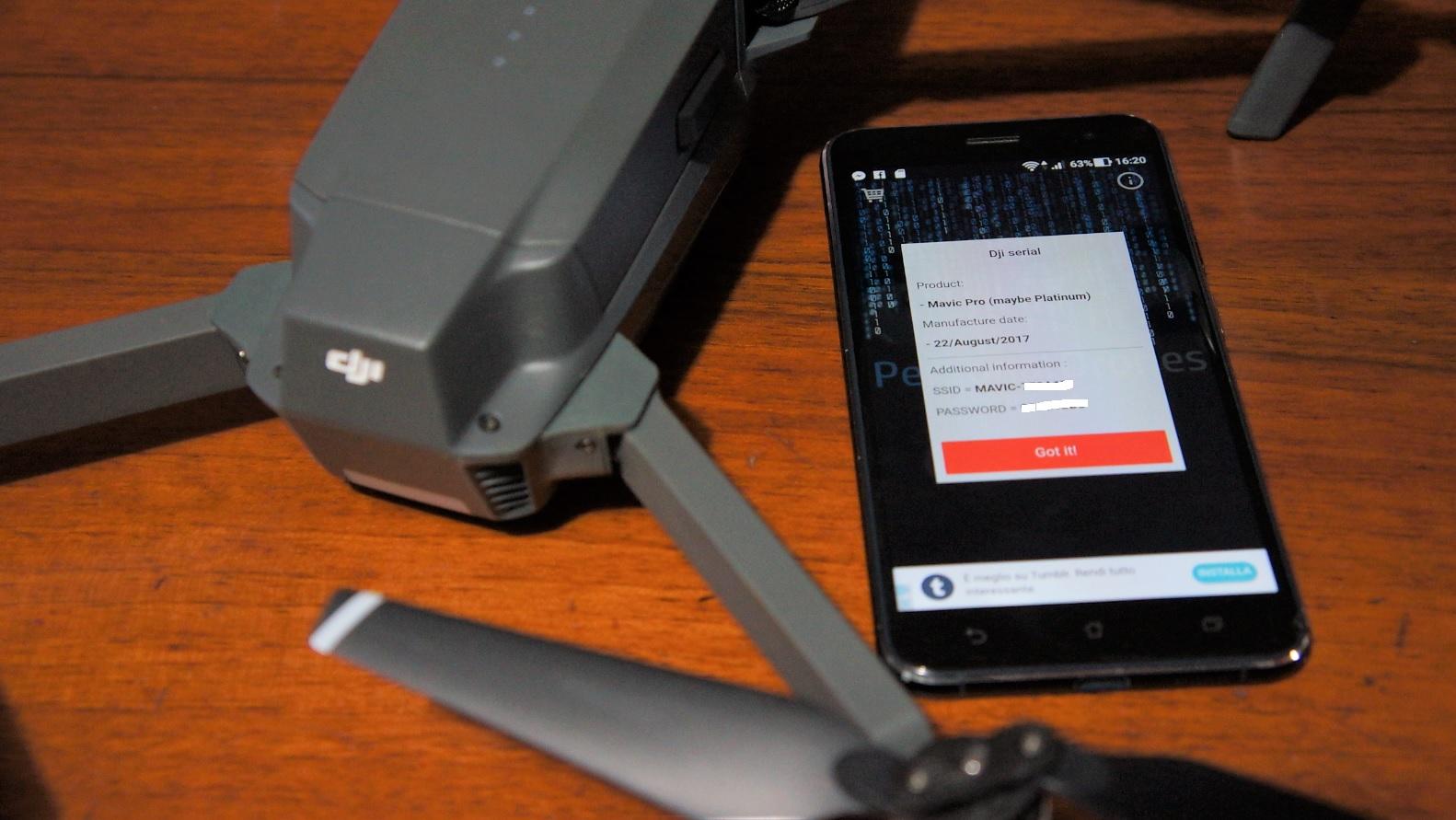 Quando è stato prodotto il mio Drone DJI? Te lo dice D-Serial