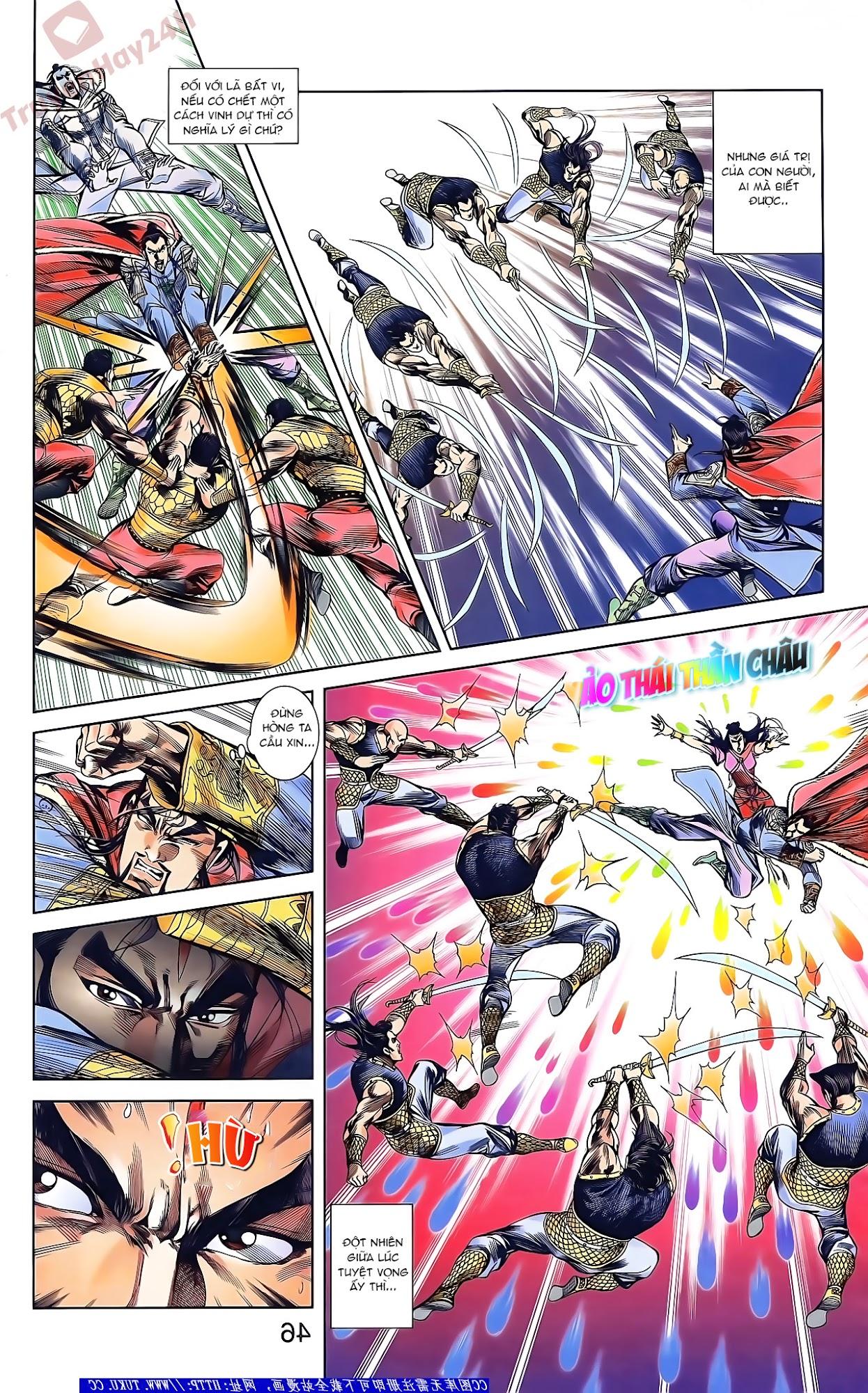 Tần Vương Doanh Chính chapter 46 trang 12