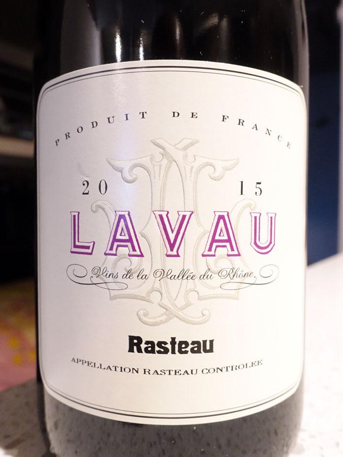 Lavau Rasteau 2015 (90 pts)
