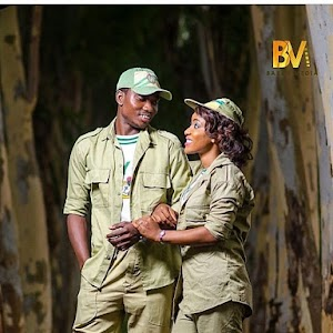 Woow!! Awaiting Couple Throws Out NYSC Uniform For Their Pre-Wedding Photos