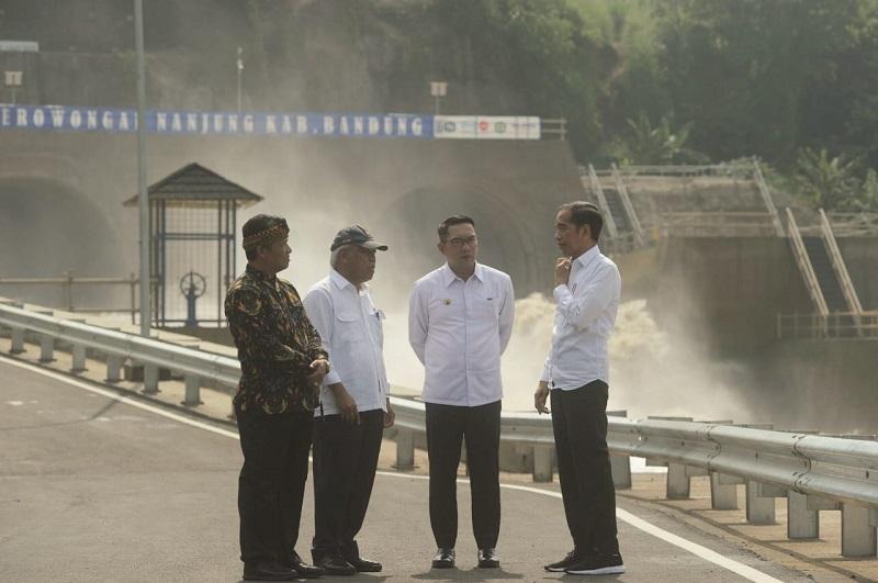 Presiden RI Resmikan Terowongan Nanjung di Kabupaten Bandung