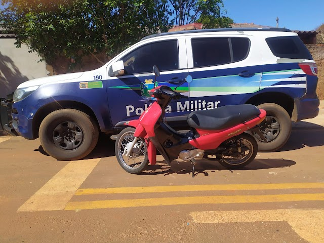 Naviraí - Polícia Militar recupera motoneta furtada