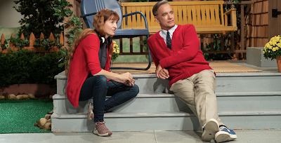 Marielle Heller and Tom Hanks