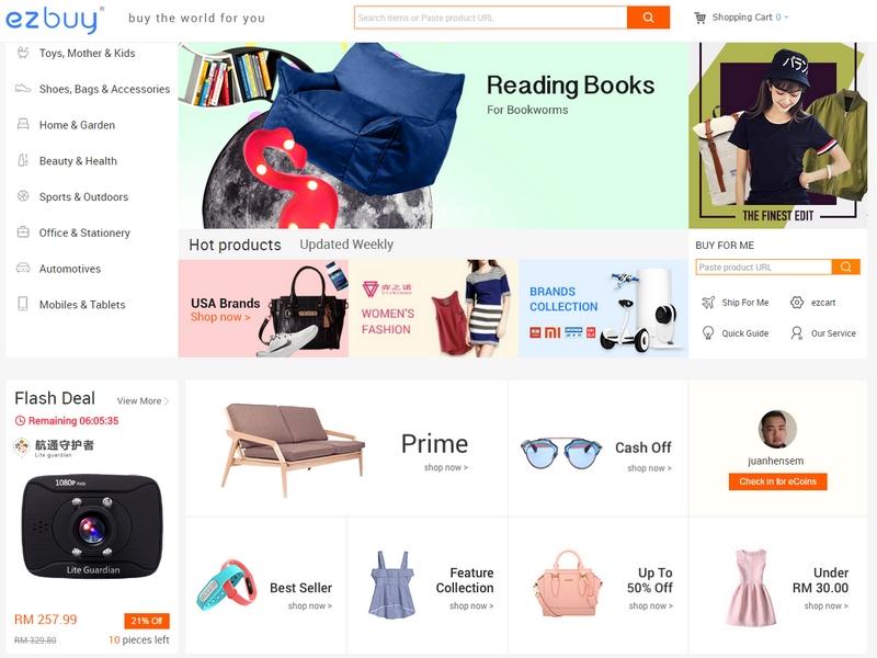 Beli barang murah Taobao China mudah secara online