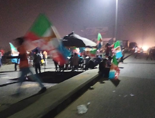 No David Lyon, no governor for the state'' - APC youths in Bayelsa protest Supreme court ruling (video)