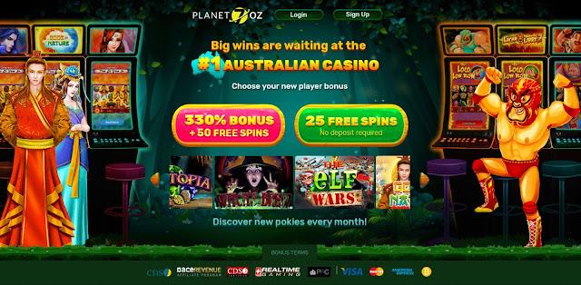 Planet7 Oz casino bonuses