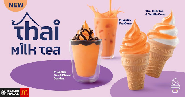 McDonald's Malaysia Mekdi Thai Milk Tea Penang Blogger Influencer