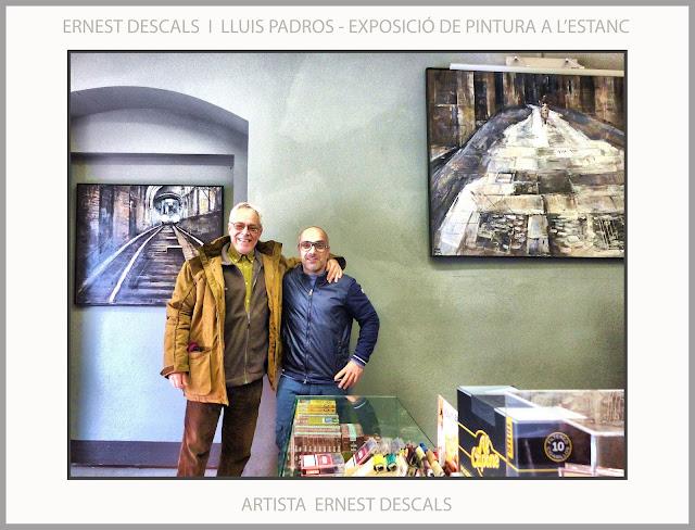 MANRESA-PINTURA-EXPOSICIONS-ARTISTA-PINTOR-ERNEST DESCALS-ESTANC-LLUIS PADROS-DECORACIÓ-PROJECTES ARTISTICS-