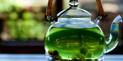 teh hijau menu sehat sarapan pagi