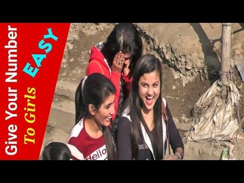 NepaliPrank - Give Your Number To Girls Easy (Valentine Special)
