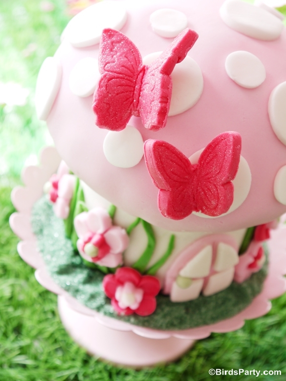 Pixie Fairy Party Ideas How To Make A Toadstool Birthday Cake