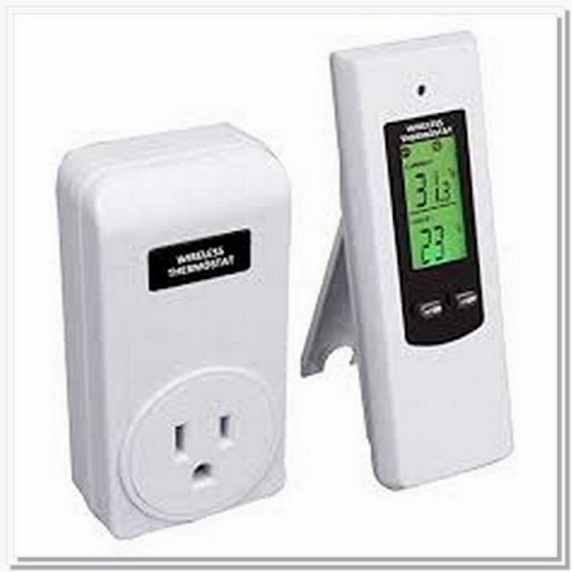 Remote controlled house thermostat