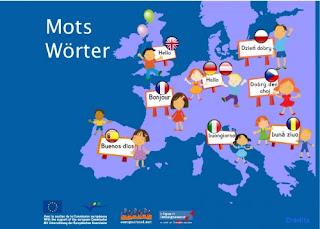 Vocabulario en 8 idiomas
