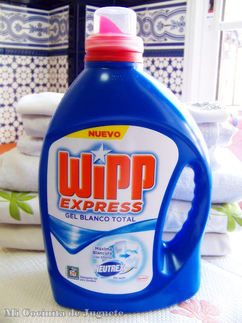 Wipp Express Gel Blanco Total con Neutrex