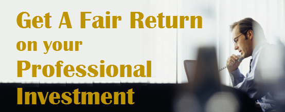 Attorney Robert Adelson helps CEOs get a fair return on their professional investment.