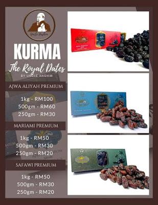 Kurma Ajwa, Safawi dan Mariami Jual Online