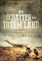 Cover: Wie Schatten über totem Land - S. Craig Zahler