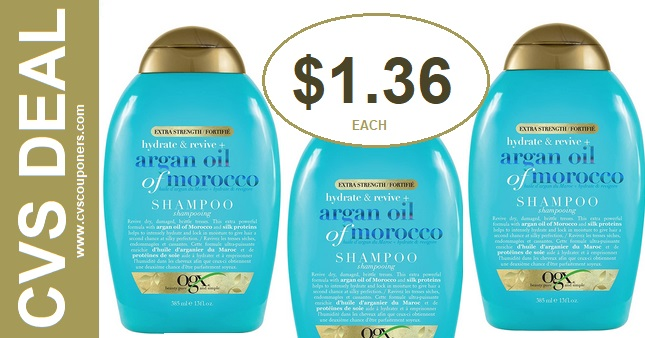 Cheal Deals on OGX Shampoo at CVS