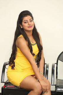 Actress Tarunika Pictures in Short Dress at Ramasakkanodu Movie Opening  0043