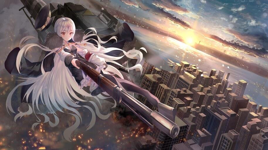 Anime, Girls Frontline, Kar98k, Rifle, 4K, #6.1086