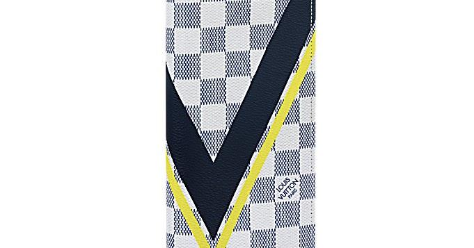 1984185a658 Louis Vuitton Brazza Wallet Damier White LV Cup | Authentic Louis ...