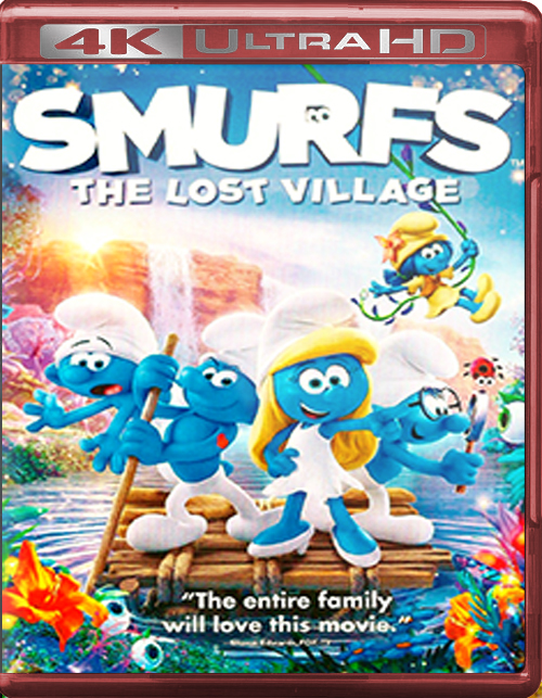 Smurfs: The Lost Village [2017] [UHD] [2160p] [Latino – Castellano]