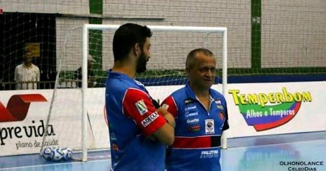 Roncadorense faz parte da comissão técnica do Cascavel Futsal