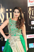 Manjusha in Beautiful Sleeveless Green Anarkali dress at IIFA Utsavam Awards 83.JPG