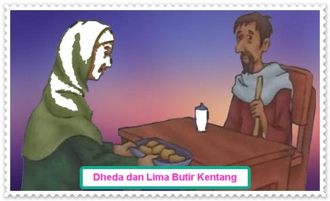 Dheda dan Lima Butir Kentang