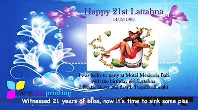 Happy 21st Lattahna