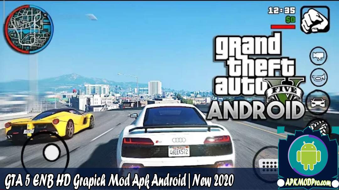 Download GTA 5 ENB HD Grapich Mod Apk Android | The Latest Version 2020