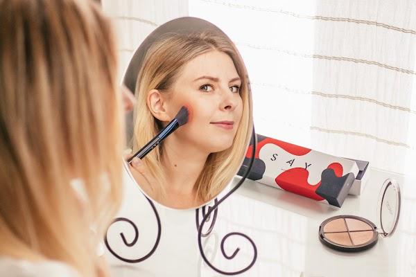 SAY Makeup ANGLED CHEEK BRUSH - czy warto? {pędzel do konturowania policzków}