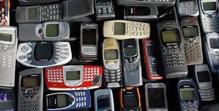 quanto ouro há nos telefones celulares
