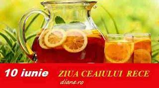 10 iunie: Ziua ceaiului rece