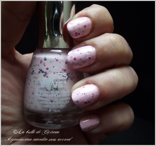 vernis Yes Love Speckled