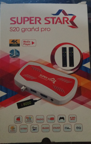 SUPER STAR S20 GRAND PRO HD RECEIVER NEW SOFTWARE 02 MARCH 2021